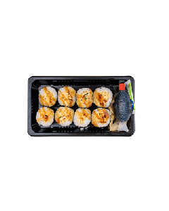 Maki gekochter Lachs
